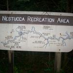 Nestucca Recreation Area Sign (Map)