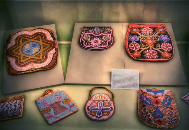 Beadwork at the Maryhill Museum