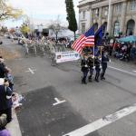 The Oregon National Guard Joint Forces Color Guard