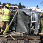 Crash image Highway 30 near the Warren Country Store August 25th 2011