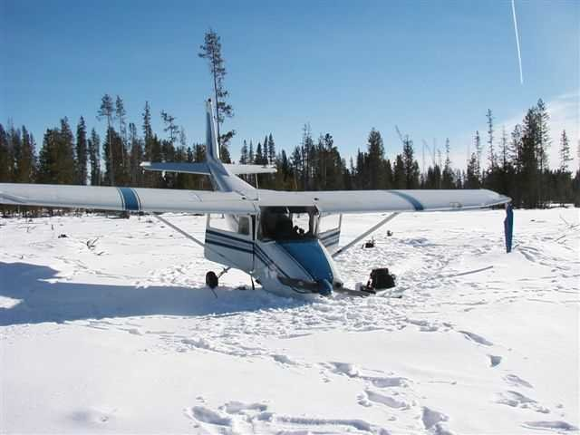 Emergency Landing: Cessna 172