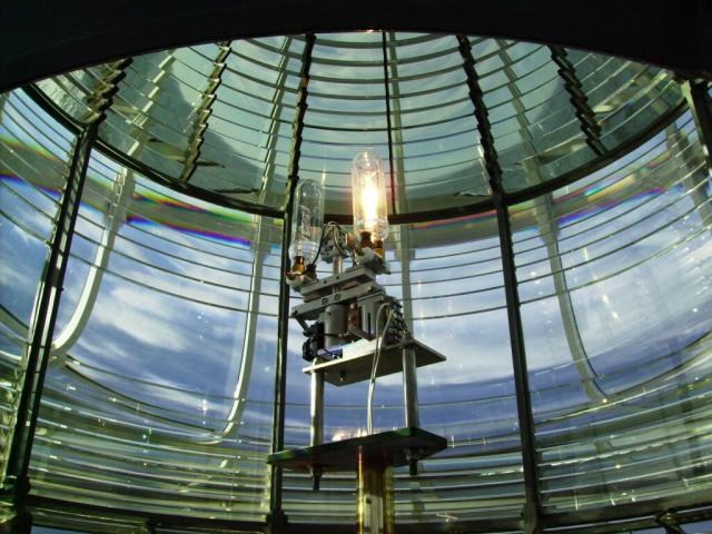 Lighthouse Lens - by: Kevin Hays