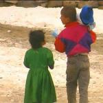 Kids in the Kabul snow - by: Tim King
