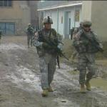 Oregon soldiers patrol Afghanistan road - by: Tim King