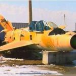 MIG-21 fighter abandoned and forgotten - by: Tim King