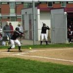 Willamette player lays down the perfect bunt