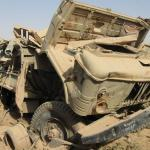 Destroyed Iraqi Truck