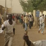 Citizens of Darfur came together in protest